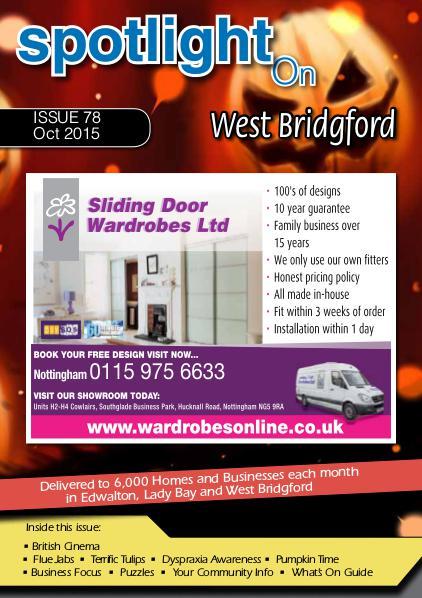 Spotlight Magazine for West Bridgford October 2015