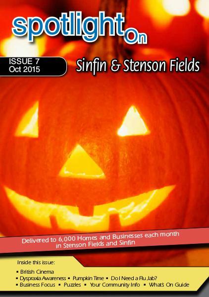 Spotlight Magazine Sinfin & Stenson Fields Oct 15
