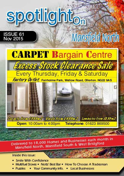 Spotlight Magazine Mansfield North November 2015