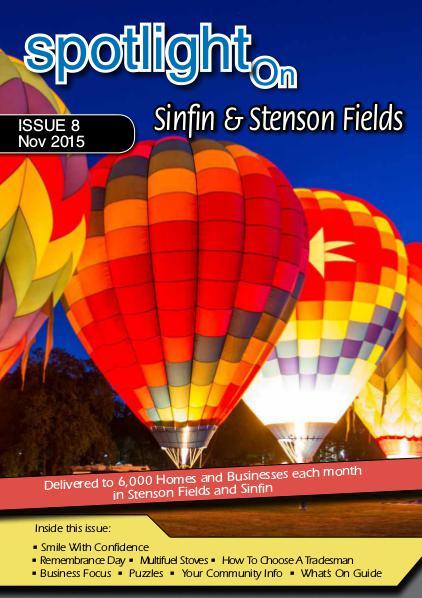 Spotlight Magazine Sinfin & Stenson Fields Nov 15
