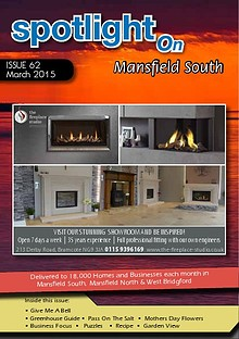 Spotlight Magazine for North Mansfield March 2015