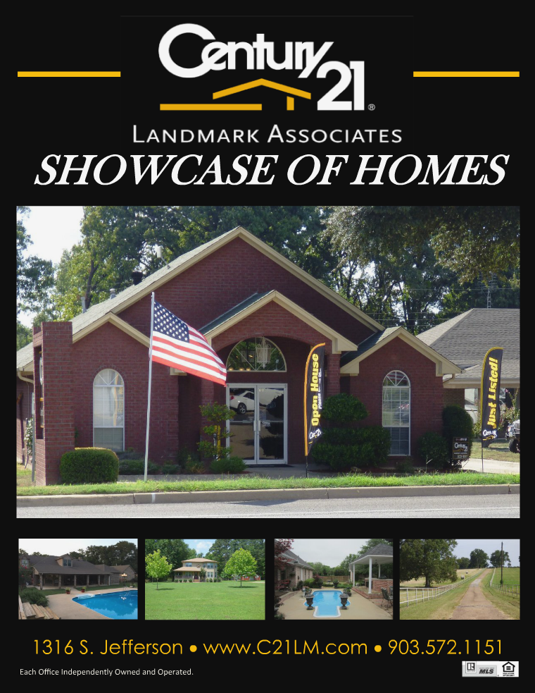 Showcase of Homes 10.6.216 in Camp, Titus,and surrounding counties.