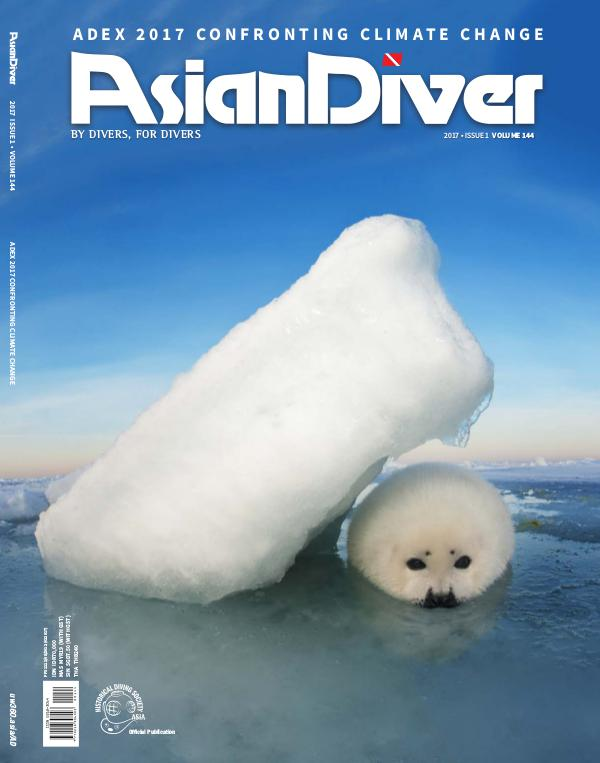 Asian Diver and Scuba Diver No. 1/2017 Volume 144