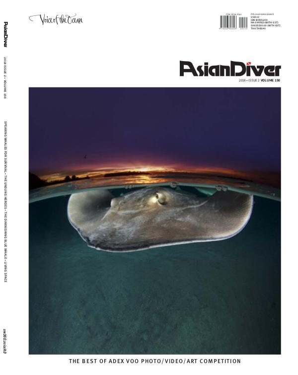 Asian Diver No. 2/2018 Volume 150