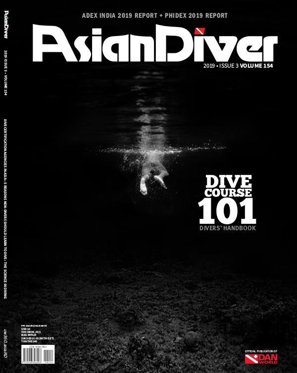 Asian Diver and Scuba Diver No. 3/2019 Volume 154