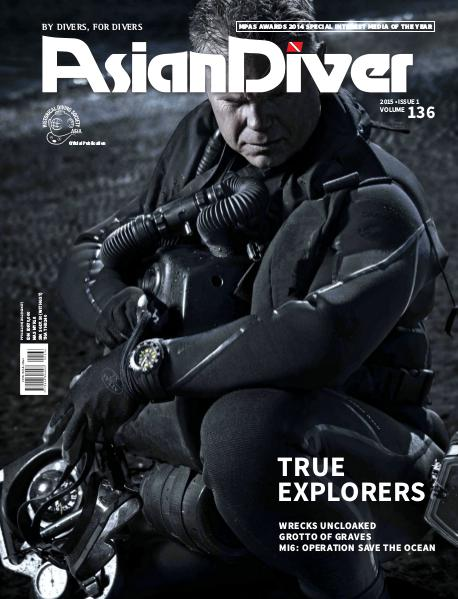 Asian Diver and Scuba Diver No. 1/2015 Volume 136