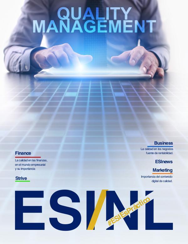 ESI Management Magazine ESINL 2.2017