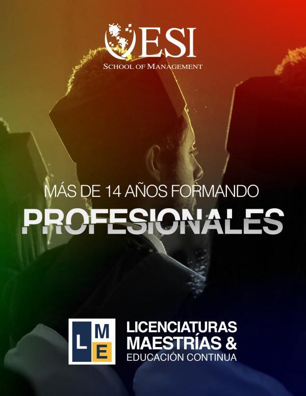 ESI SCHOOL OF MANAGEMENT gráficas_programas