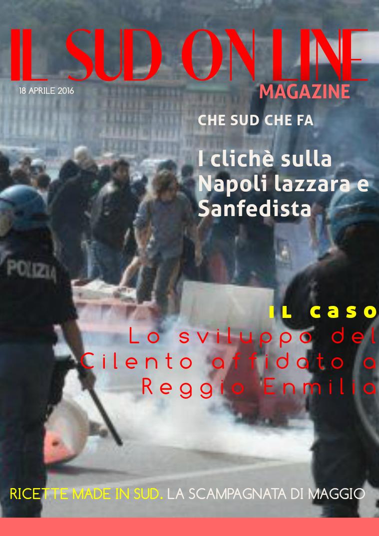 IL SUD ON LINE MAGAZINE 15 - Il Sud On Line - 18 APRILE 2016