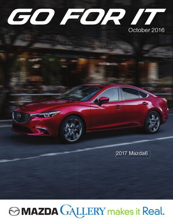 Mazda Gallery - Go For It October October