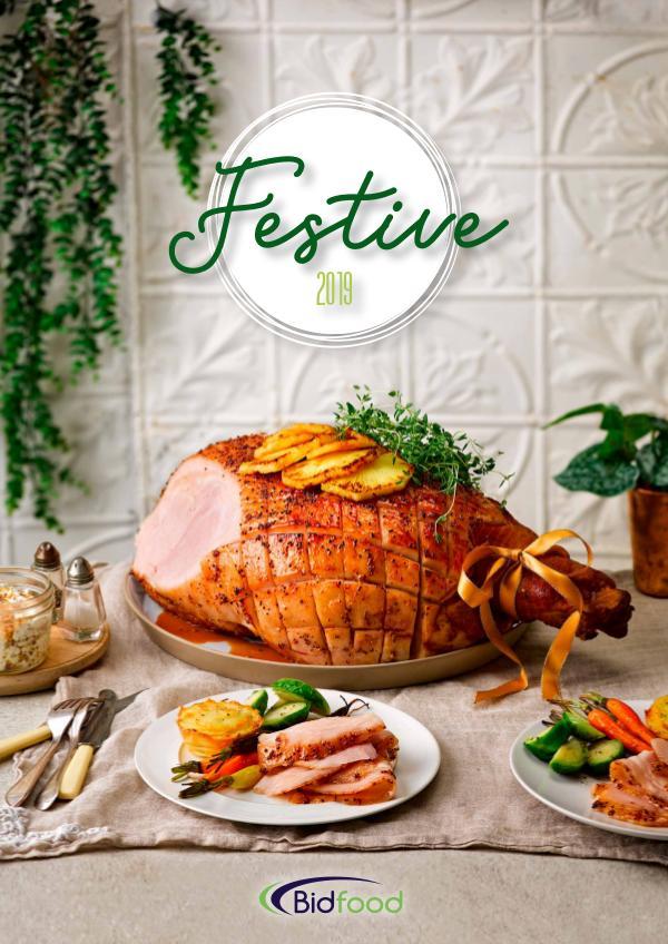 Bidfood Festive Brochure 2019