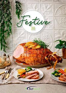 Bidfood Festive Brochure