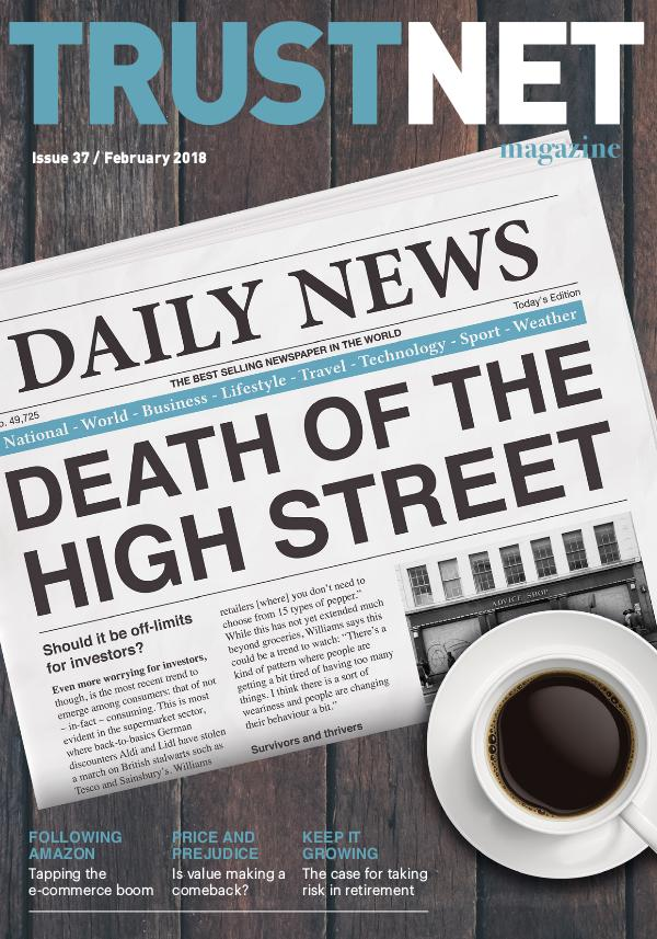 Trustnet Magazine Issue 37 February 2018