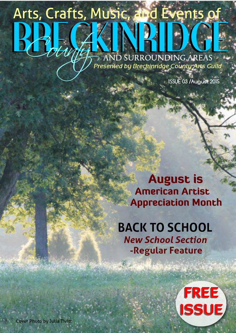 Issue 3, August 2015