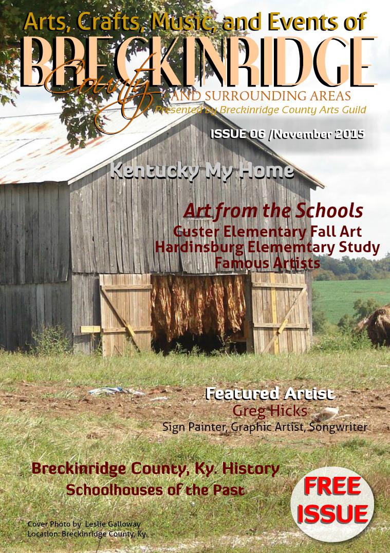 Issue 6,  November 2015