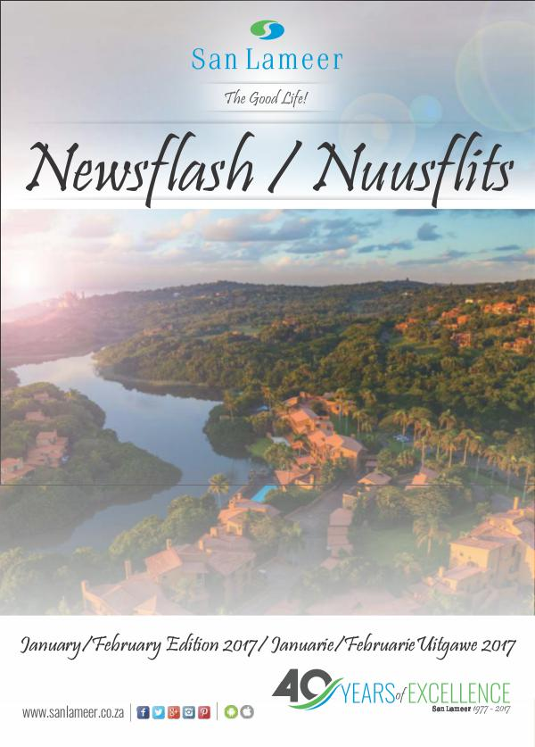 San Lameer Newsflash/Nuusflits January / February 2017