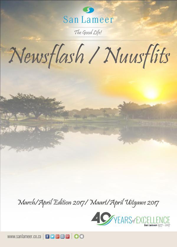 San Lameer Newsflash/Nuusflits March/April 2017