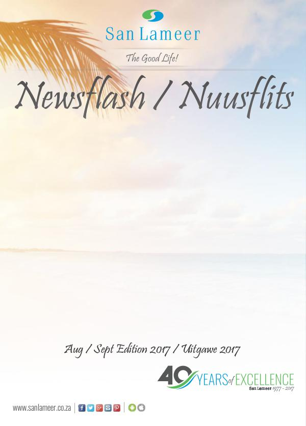 San Lameer Newsflash/Nuusflits Aug / Sept 2017