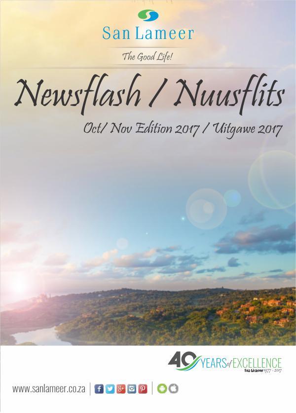 San Lameer Newsflash/Nuusflits Oct/Nov 2017