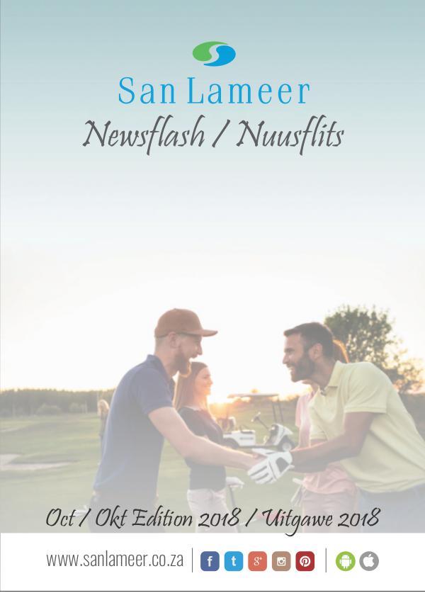 San Lameer Newsflash/Nuusflits Oct 2018