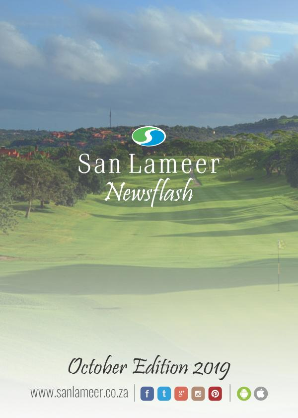 San Lameer Newsflash/Nuusflits October 2019