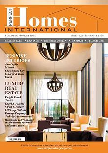 PERFECT HOMES MAGAZINE ( Editor Stan Israel)