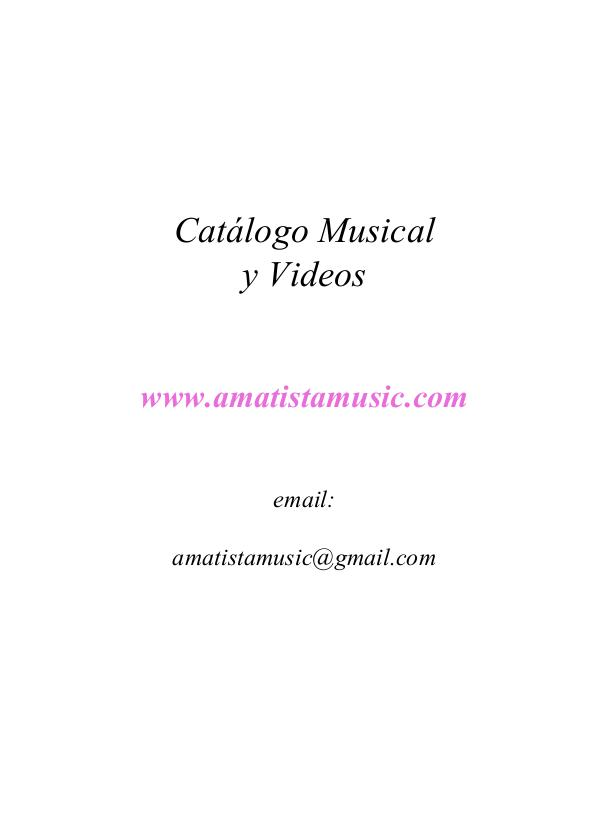 Amatistamusic Relax Catalogo 2017 Amatistamusic 2017 Catalogue