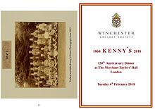 Winchester College 150th House Celebration Booklets