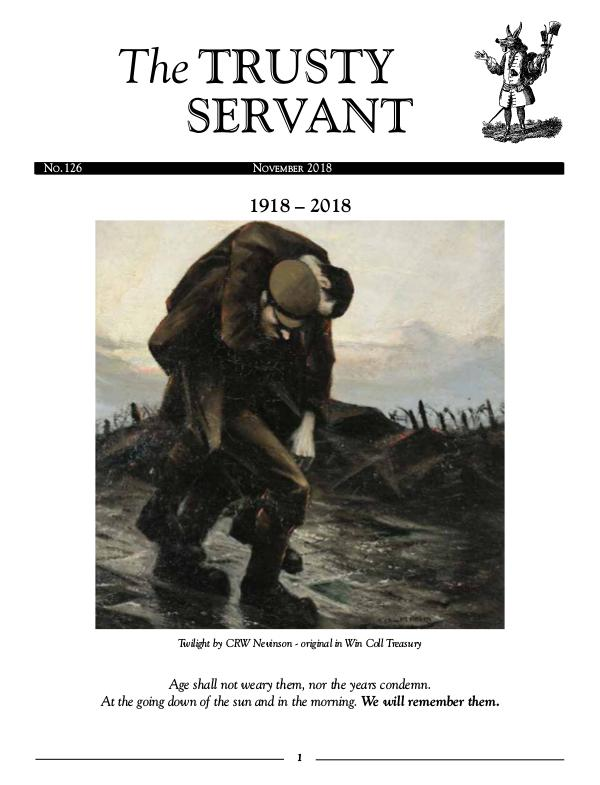 The Trusty Servant Nov 2018 No. 126