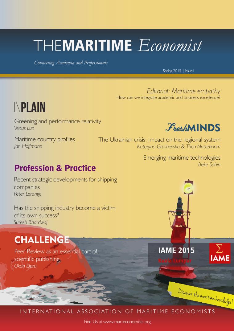 The Maritime Economist Magazine Spring 2015