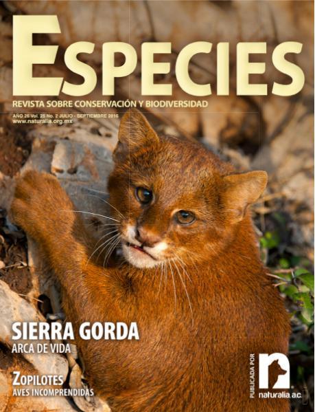 Especies 2-16 julio-septiembre 2016
