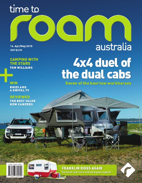 Time to Roam Australia Issue 14 April / May 2015