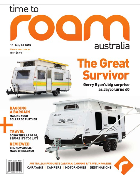 Time to Roam Australia Issue 15 - June/July 2015