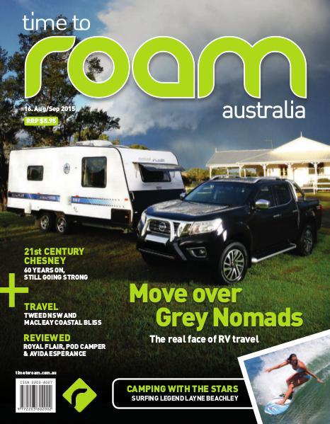 Time to Roam Australia Issue 16 - August/September 2015