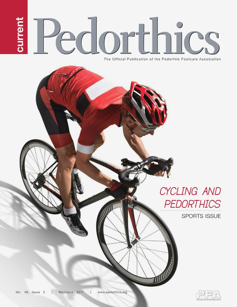 Current Pedorthics May/June 2017 - Vol.49, Issue 3