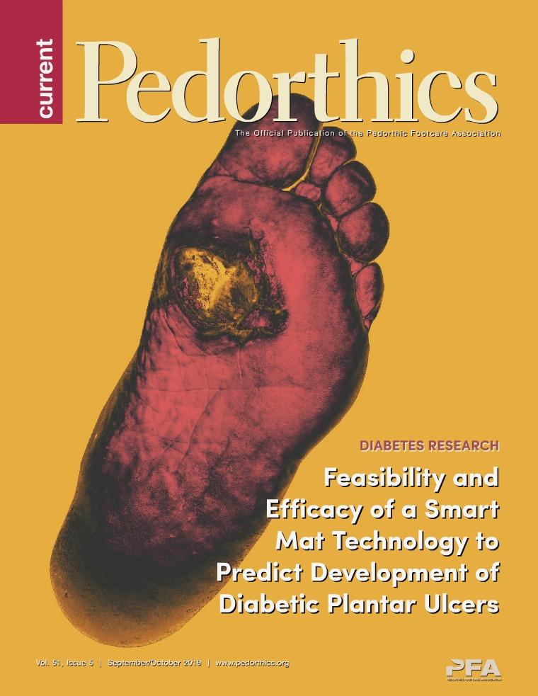 Current Pedorthics Sep-Oct 2019, Vol.51, Issue 5