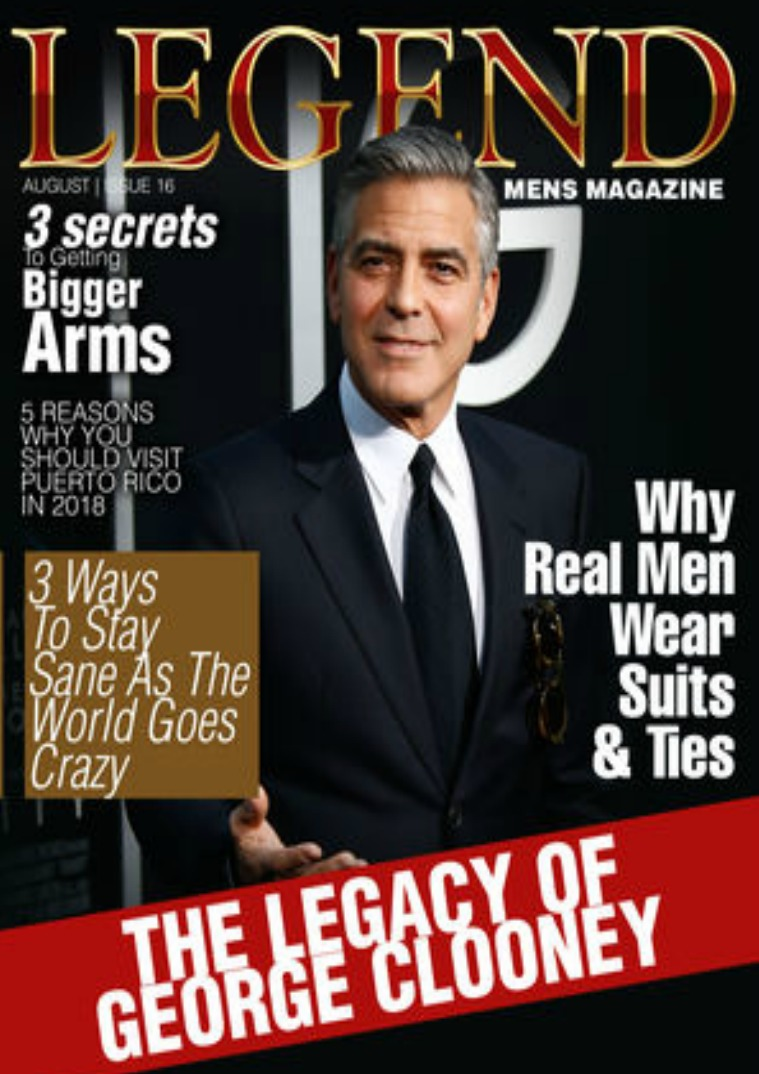 George Clooney Feature Issue