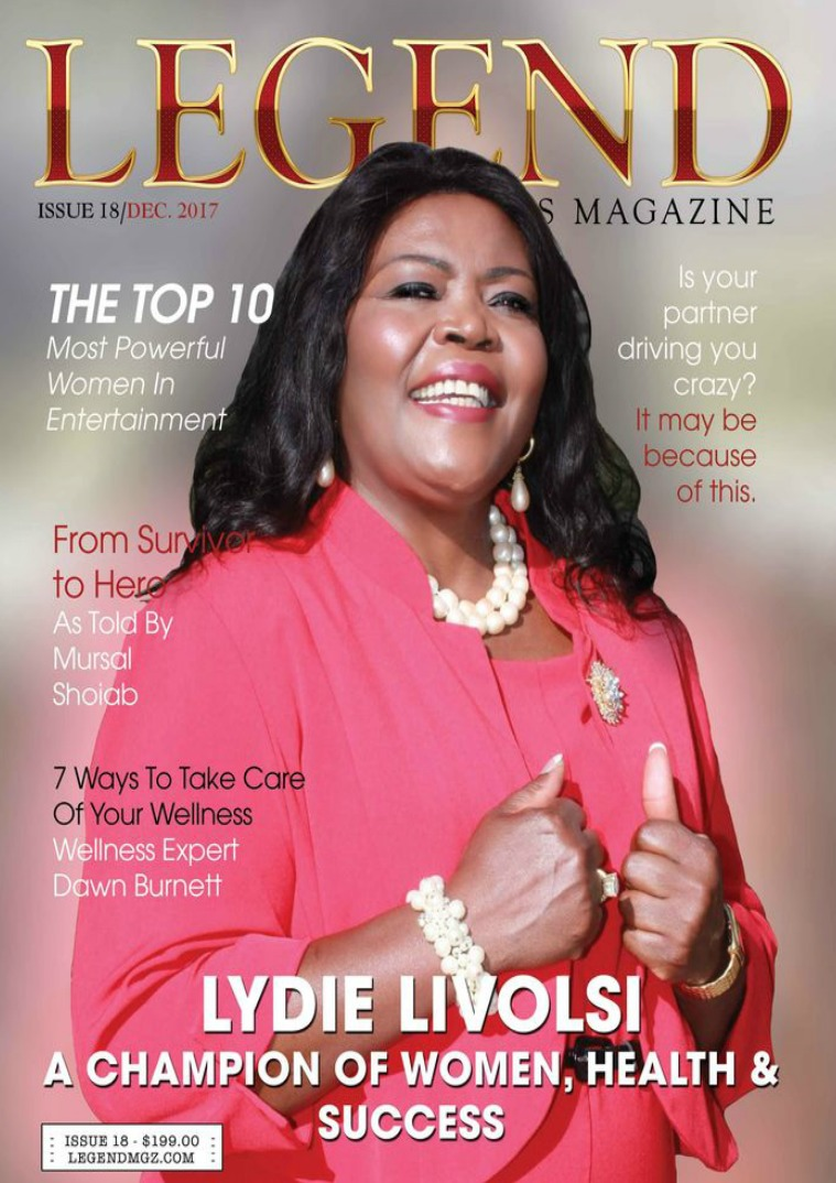 Legend Men's Magazine Most Powerful Women In Entertainment