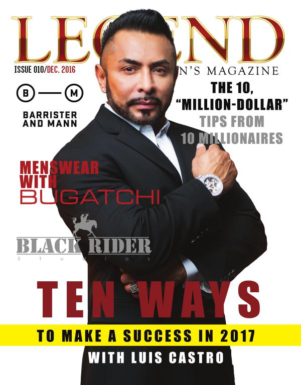 Legend Men's Magazine 1