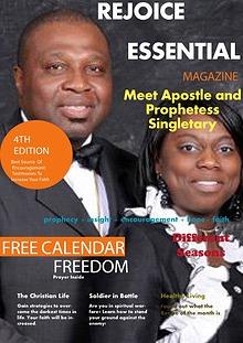 Rejoice Essential April/May 2015