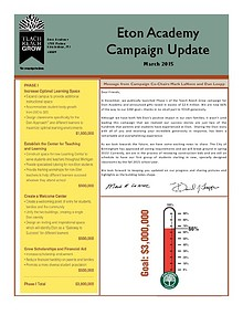 March 2015 Campaign Newsletter
