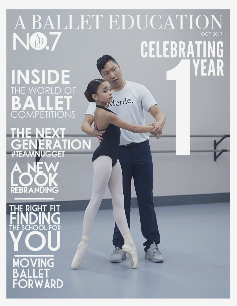 a Ballet Education Issue 7 | October 2017