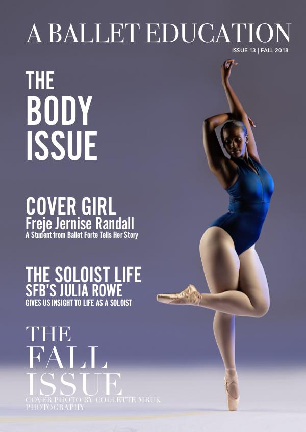 a Ballet Education Issue 13