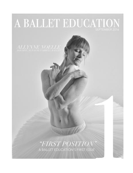 a Ballet Education September 2016