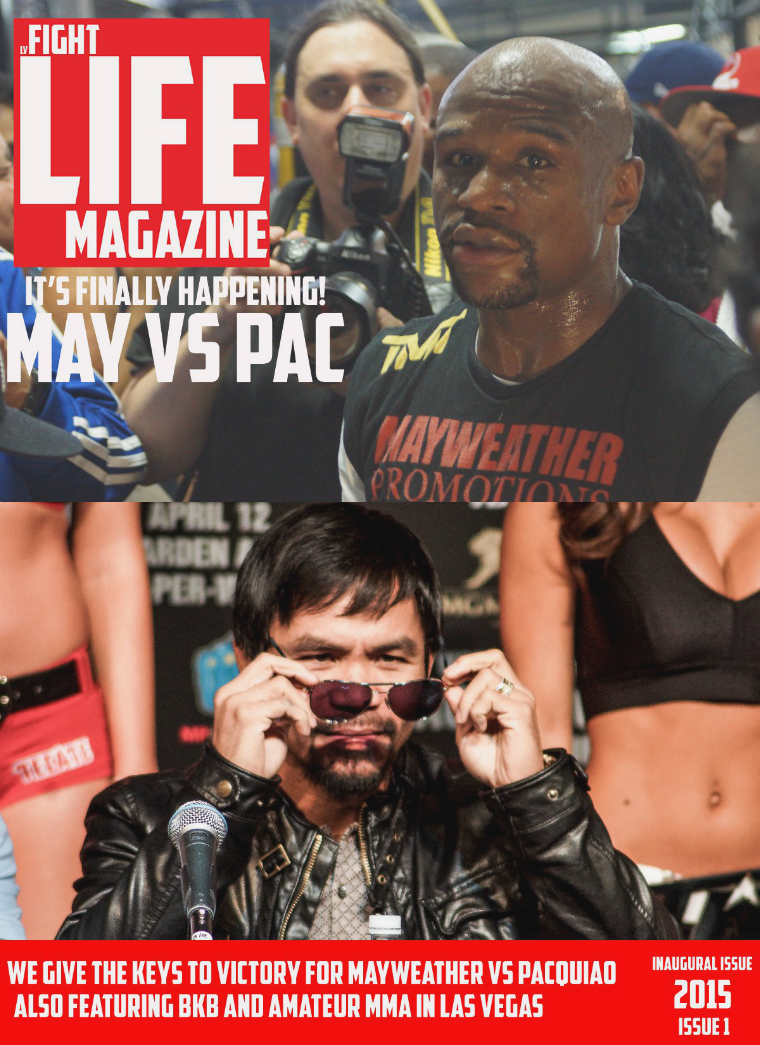 LV Fight Life issue 1 2015