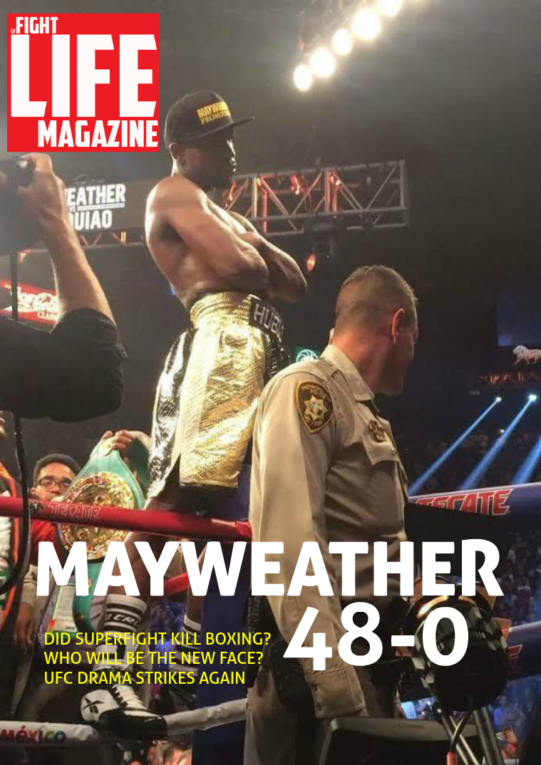 LV Fight Life May issue 2015