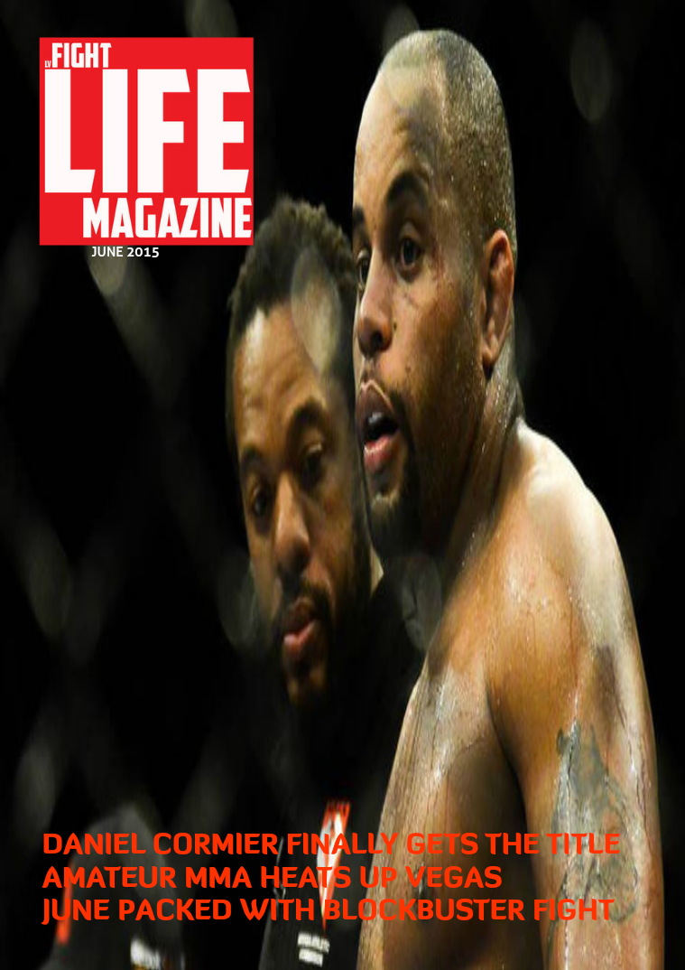 LV Fight Life June Issue 2015