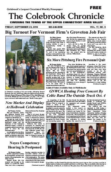 September 2016 September 23, 2016 issue