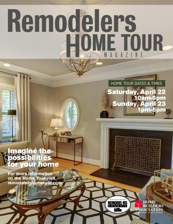 Remodelers Home Tour Magazine 2017 Wake County Remodelers Home Tour