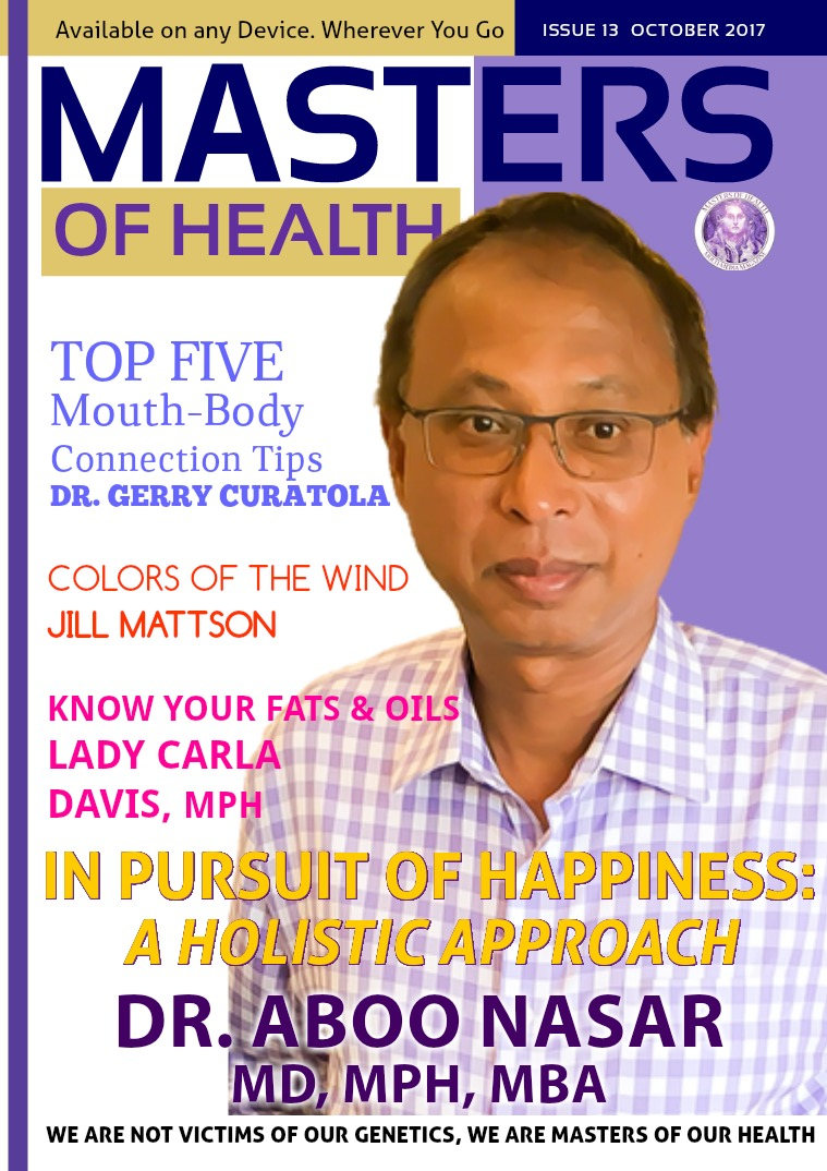 Masters of Health Magazine October 2017